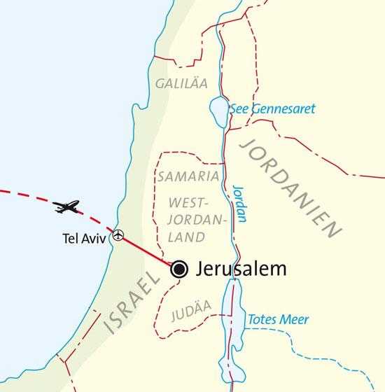 Studienreise Jerusalem