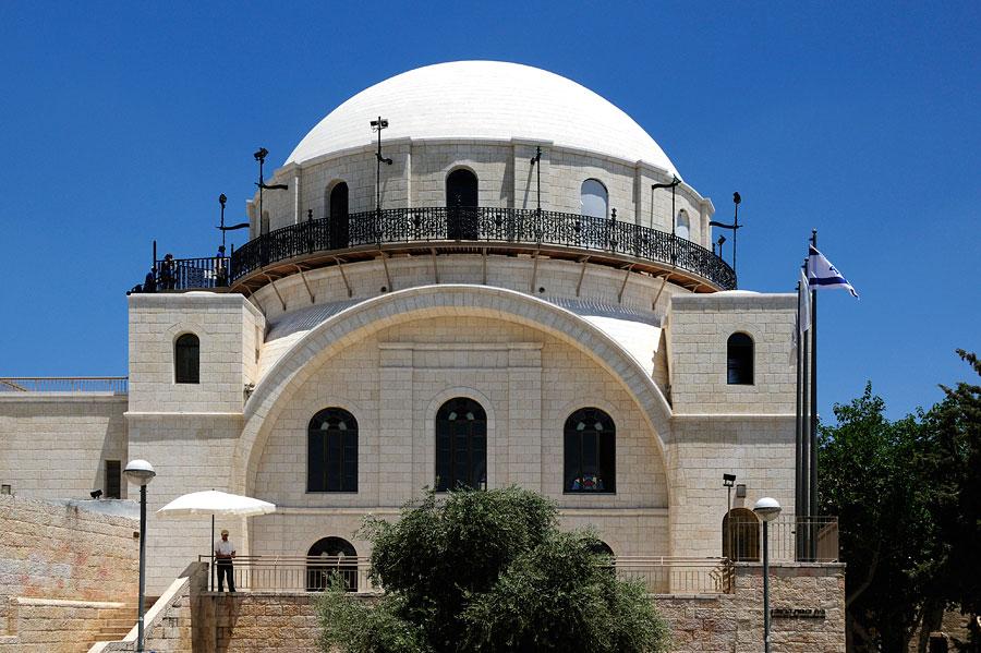 Hurva-Synagoge in Jerusalem. (© Matthias Hinrichsen)