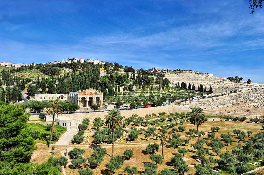 Die Kirche der Nationen liegt am Fuße des Ölbergs in Jerusalem. (© Matthias Hinrichsen)