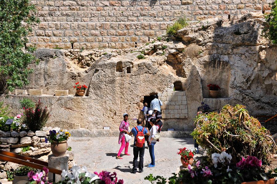 Eingang zum Gartengrab, Jerusalem