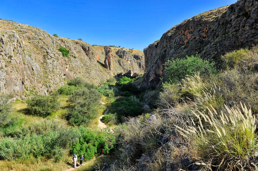Das Amud Naturreservat beim südlichen Zugang ist wenig besucht und sehr erholsam. (© Matthias Hinrichsen)