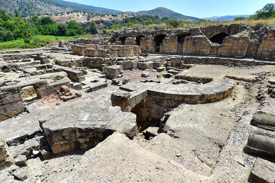 Überreste des Palastes von Agrippa. (© Matthias Hinrichsen)