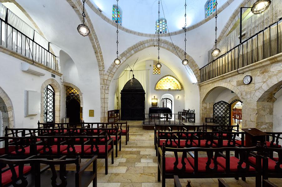 Vier Sephardische Synagogen: Eliahu-ha-Navi-Synagoge (© Matthias Hinrichsen)