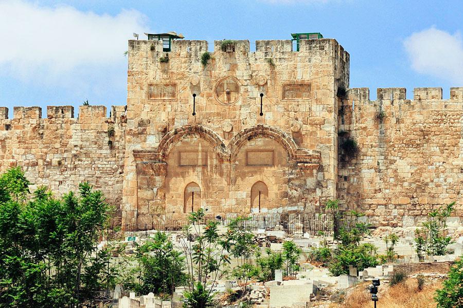Goldenes Tor in Jerusalem. (© Matthias Hinrichsen)