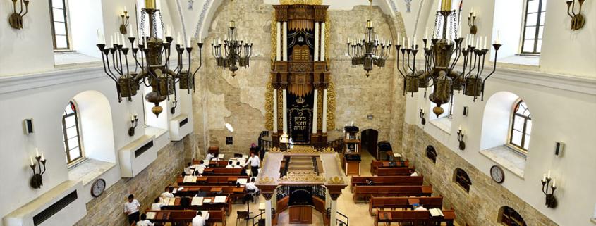 Die Hurva-Synagoge im Inneren. (© Matthias Hinrichsen)