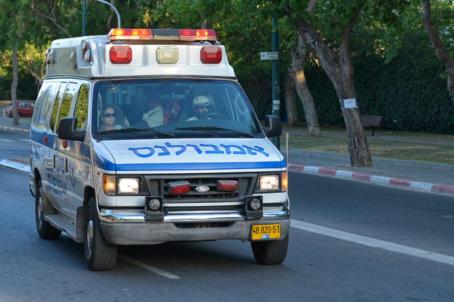 Israelischer Krankenwagen Magen David Adom