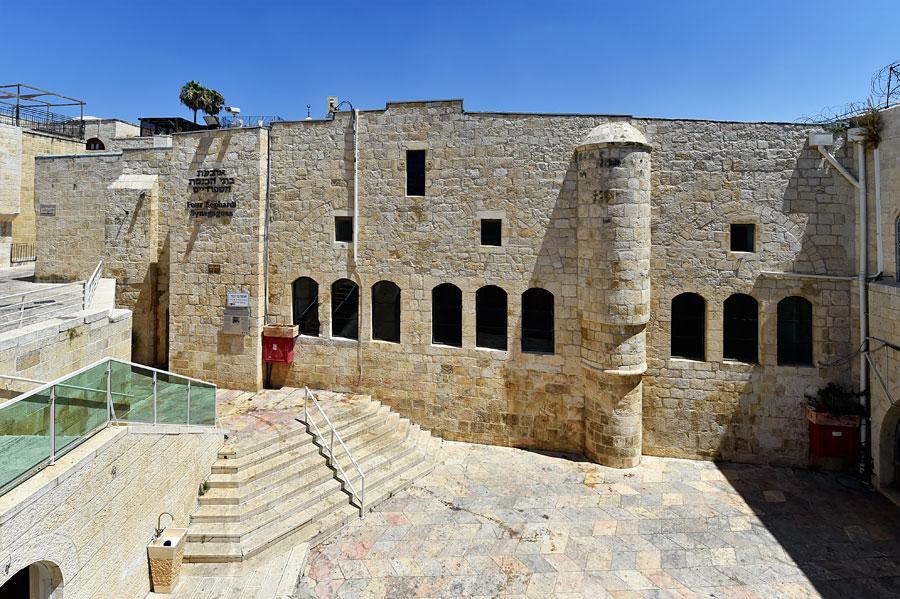 Vier Sephardische Synagogen Jerusalem. (© Matthias Hinrichsen)