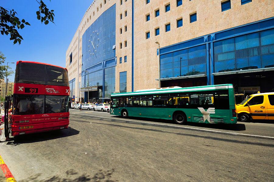 Zentraler Busbahnhof CBS Jerusalem