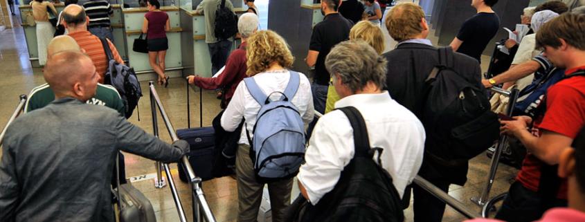 Passkontrolle Flughafen Ben Gurion