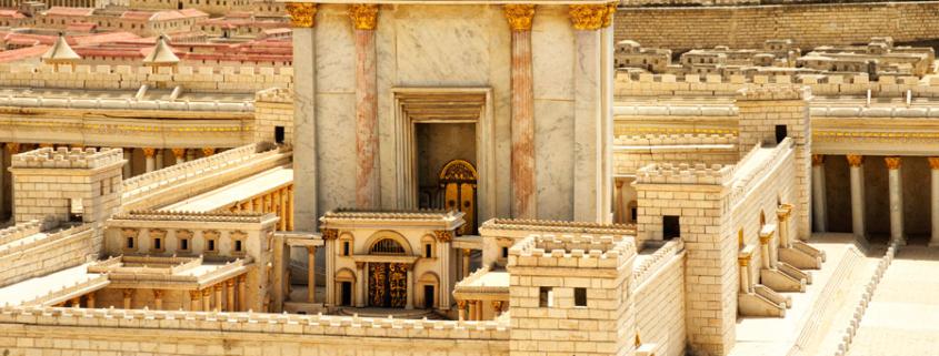 Der von Herodes errichtete Jüdische Tempel wurde durch die Römer selbst wieder zerstört. (© Matthias Hinrichsen)