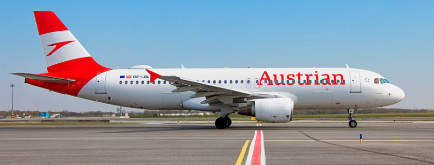 Airbus A320 der Austrian Airlines