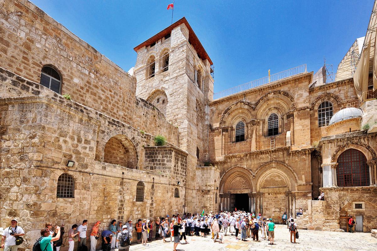 Grabeskirche Jerusalem Haupteingang