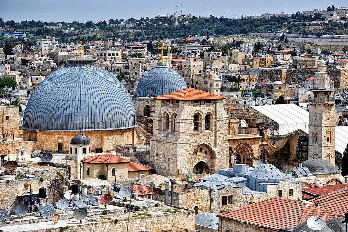 Grabeskirche in Jerusalem.