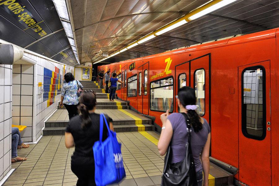 Carmelit U-Bahn Haifa