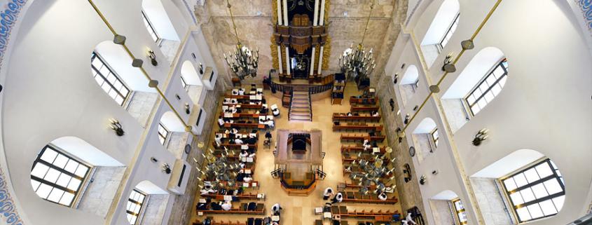 Hurva Synagoge Jerusalem