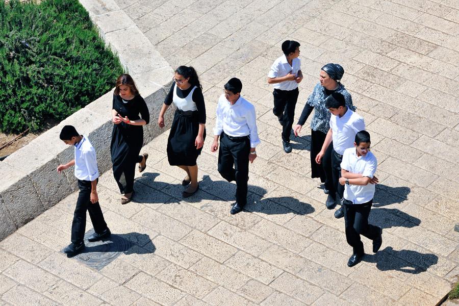 Junge Menschen Israel