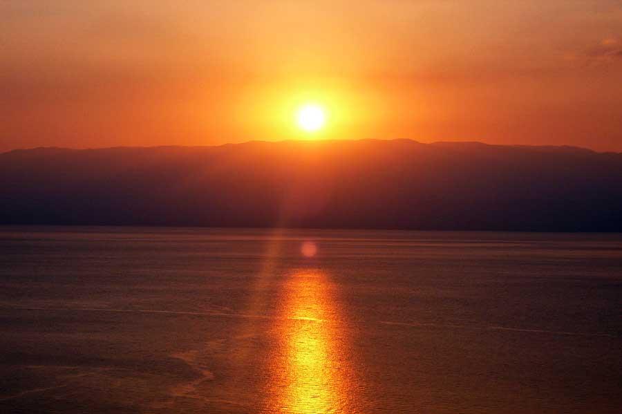 Wetter in Israel und Sonnenaufgang