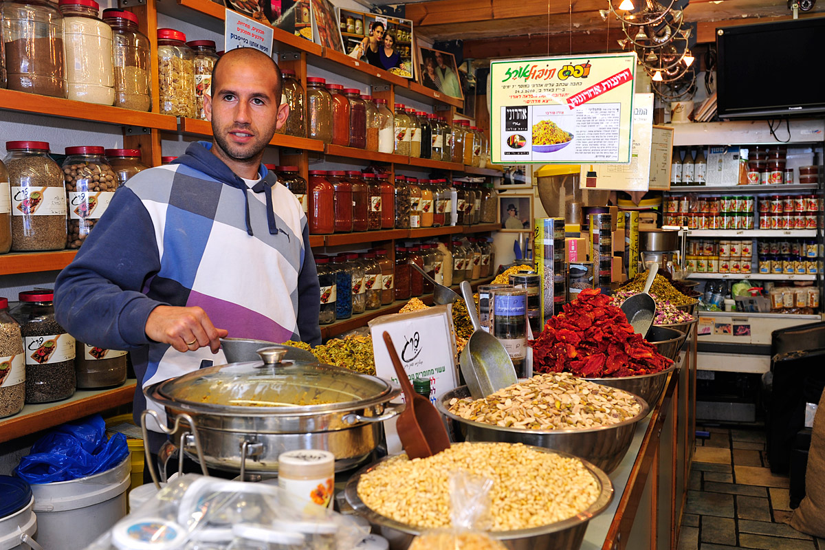Gewürze und Köstlichkeit in der Levinsky Streeten