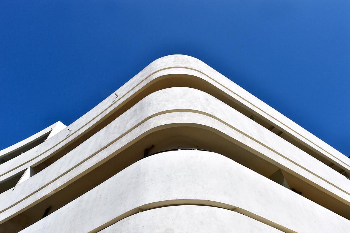 Bauhaus am Dizengoff-Platz in Tel Aviv