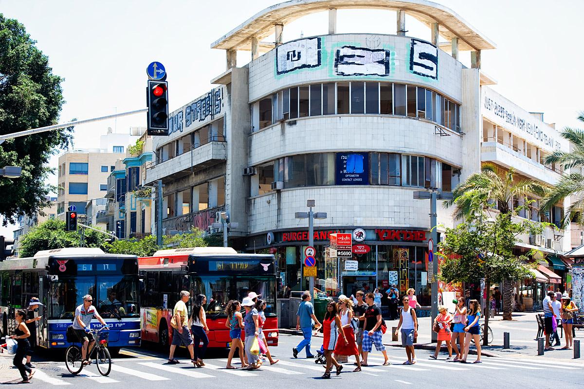 Bauhaus-Gebäude in Tel Aviv