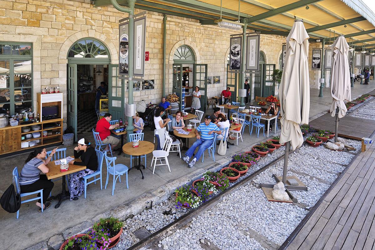 """""""First Station"""" - historischer Bahnhof in Jerusalem"""