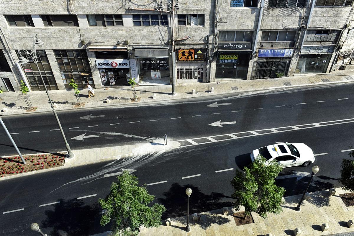 Ruhe am Schabbat in Jerusalem.