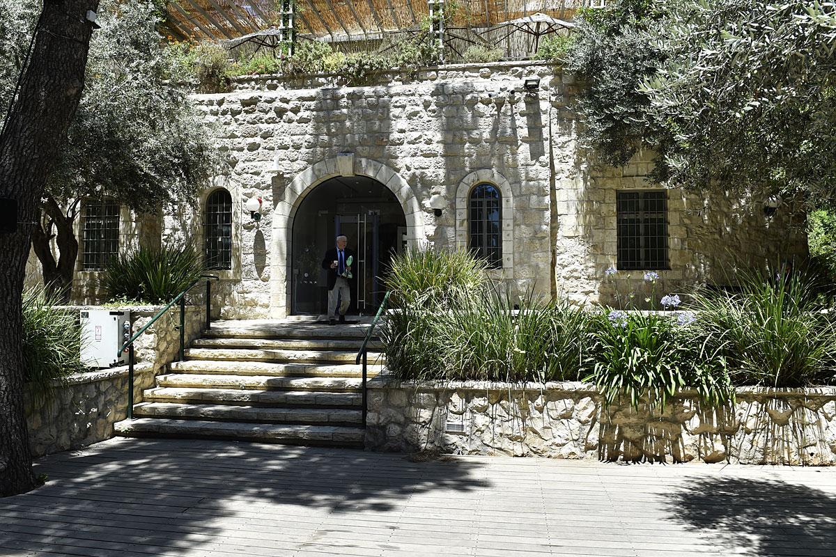 Das Anna Ticho House ist eine Oase in der Metropole Jerusalem.