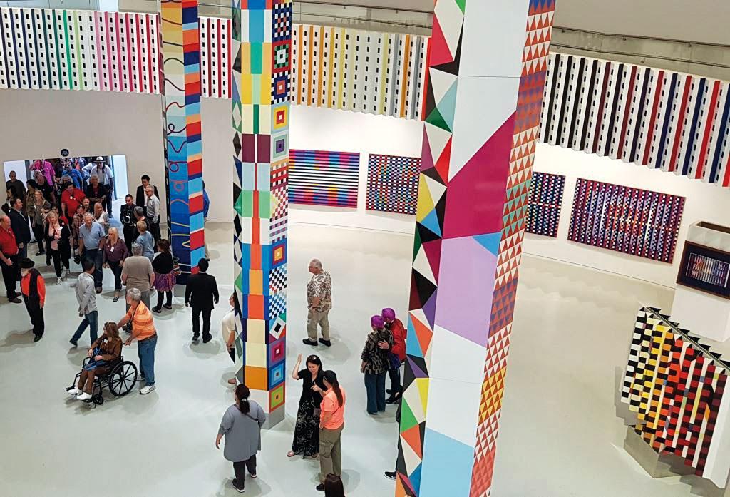 Eröffnung des Yacoov Agam Museum