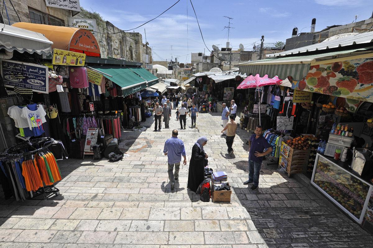 Shuk in Jerusalem