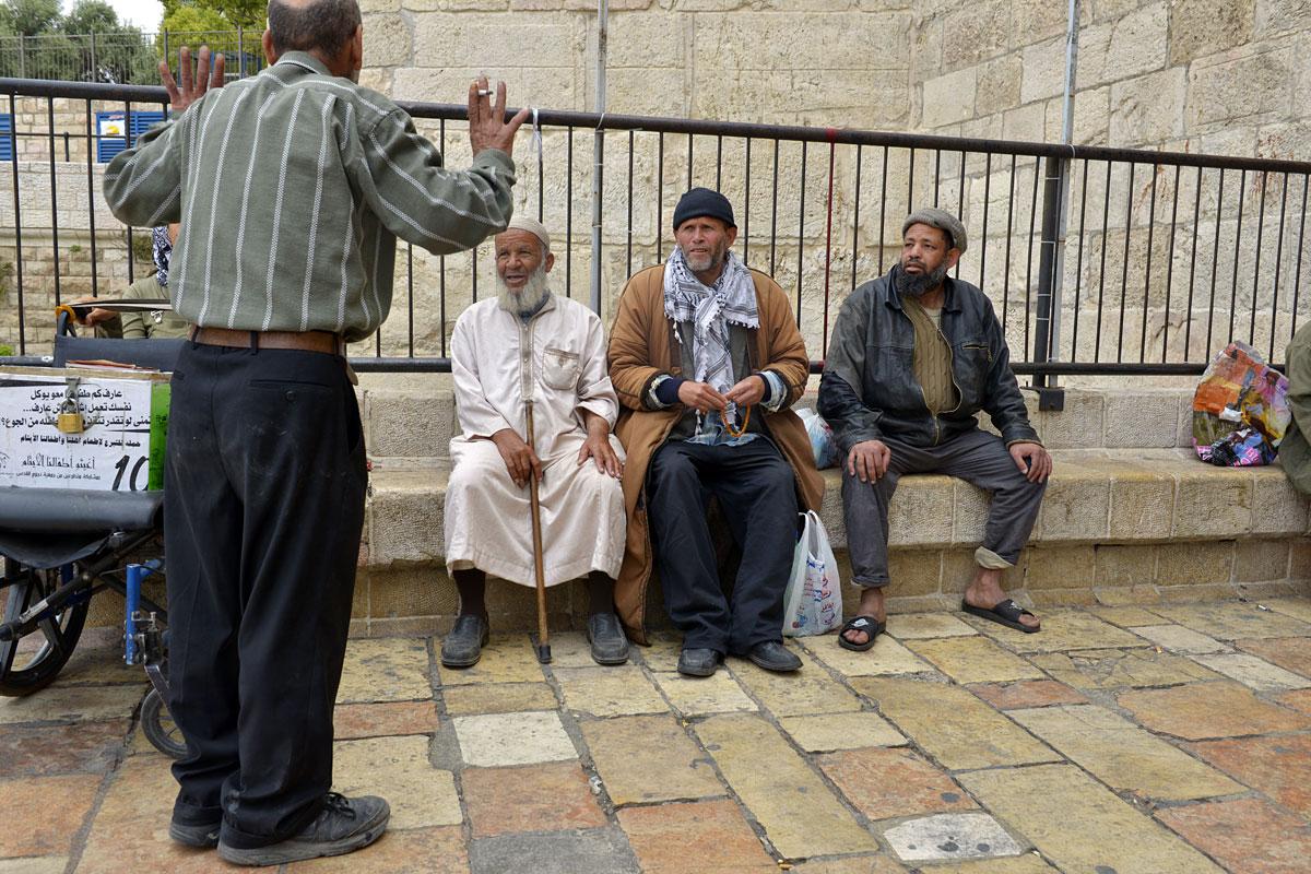 Muslime in Jerusalem
