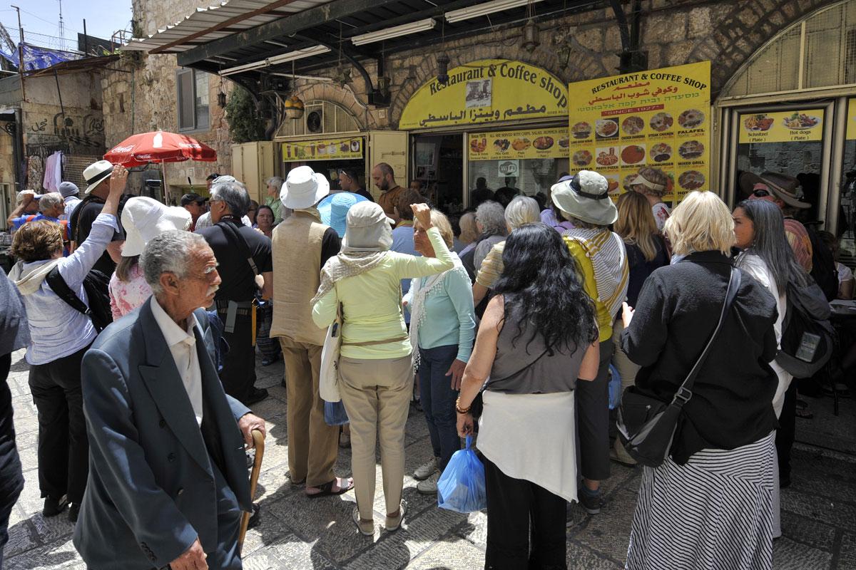 Restaurant Touristen-Nepp in Jerusalem