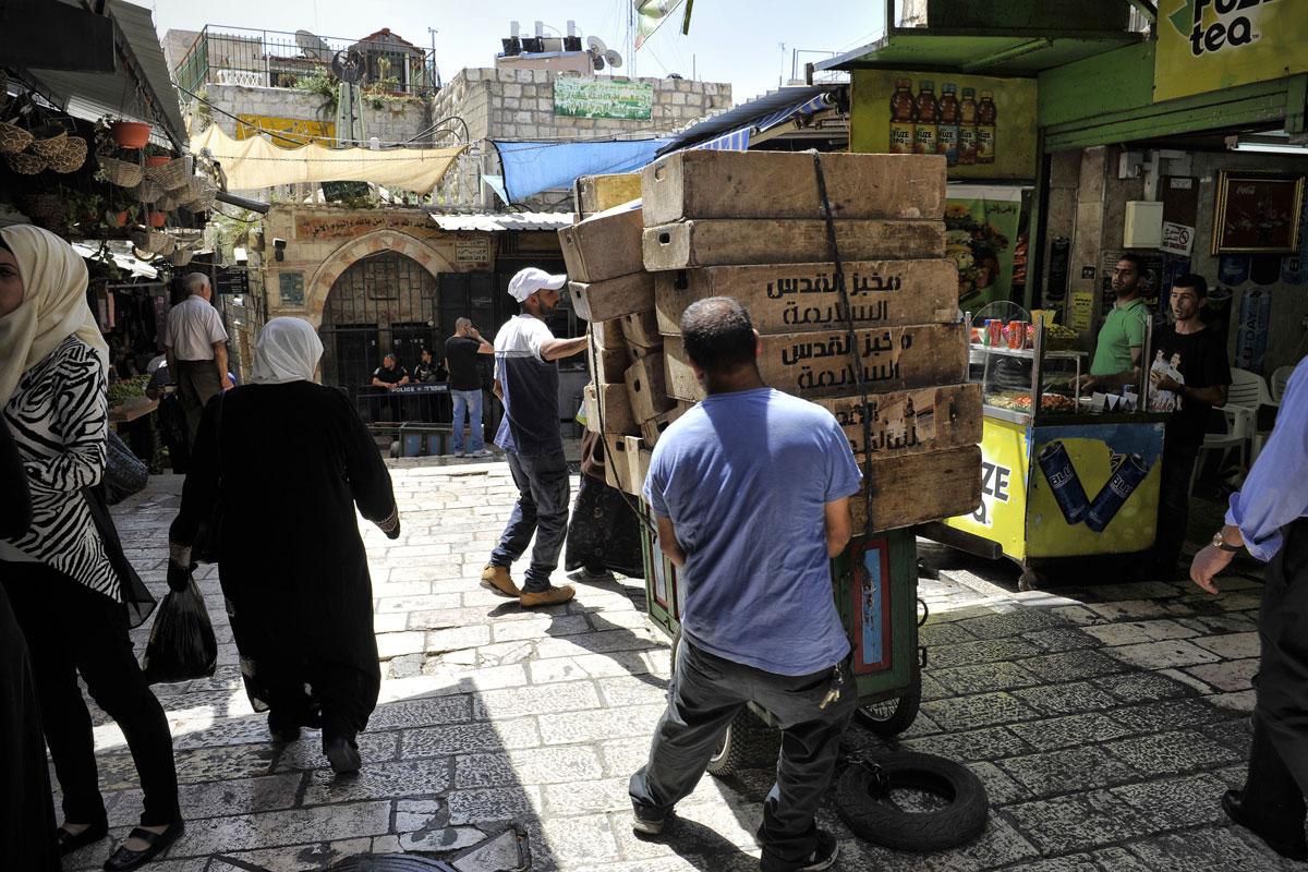 Muslimische Altstadt Jerusalem