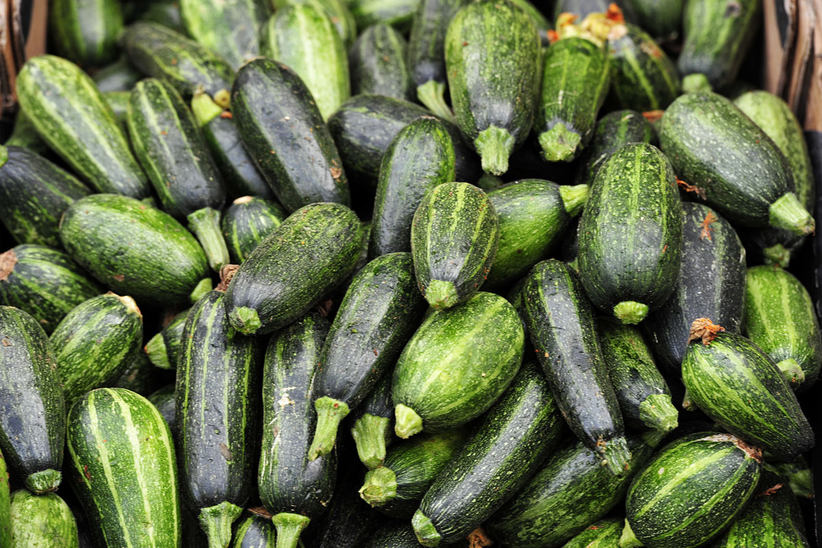 Gemüse in der muslimischen Altstadt Jerusalem