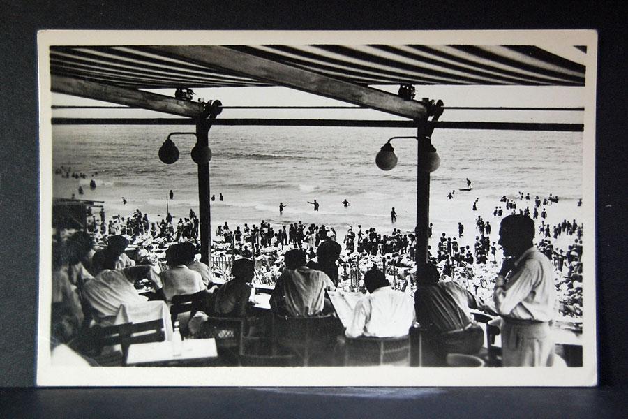Tel Aviv Mittelmeer 1960