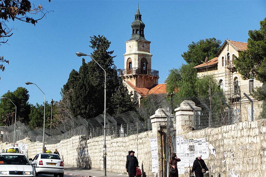 Schneller Waisenhaus-Gelände in Jerusalem.