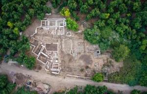 Tel Kabri Ausgrabungen 2019 Übersicht.