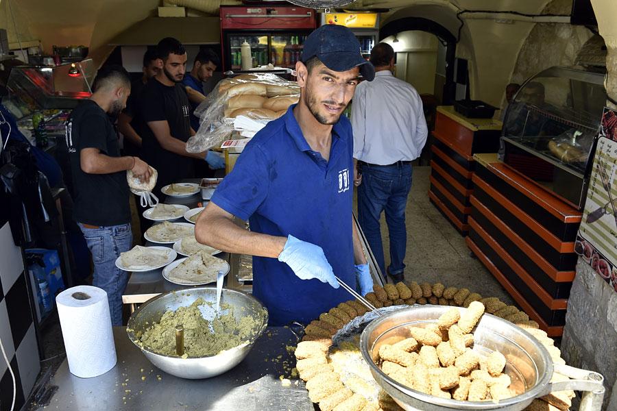 Vegane Speisen in Bethlehem