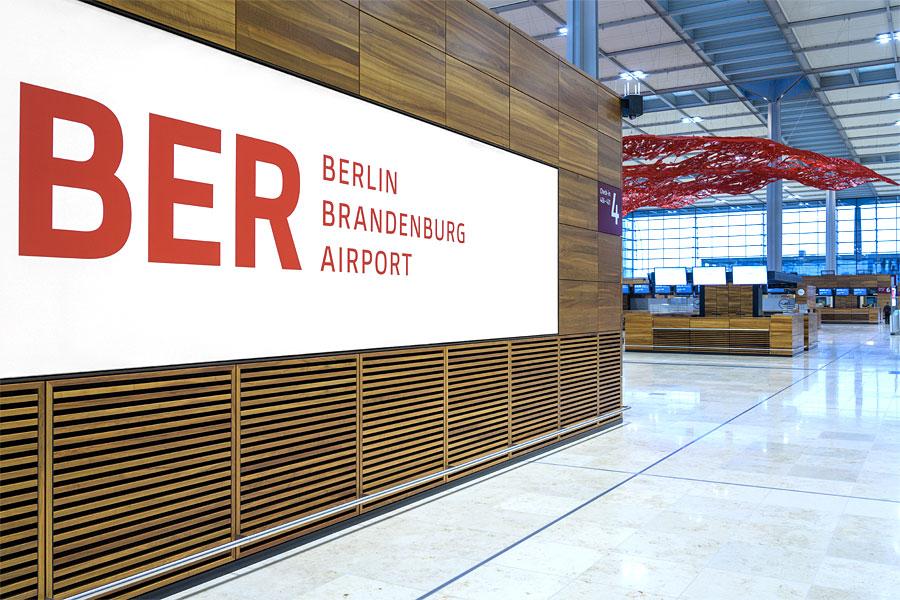 Der Flughafen Berlin Brandenburg BER wird am 31. Oktober 2020 eröffnet.