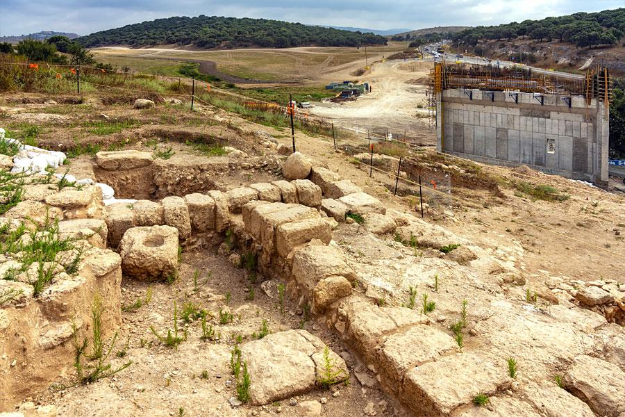 2.000 Jahre alte Mikwe in Galiläa. (© Israelische Alterumsbehörde)