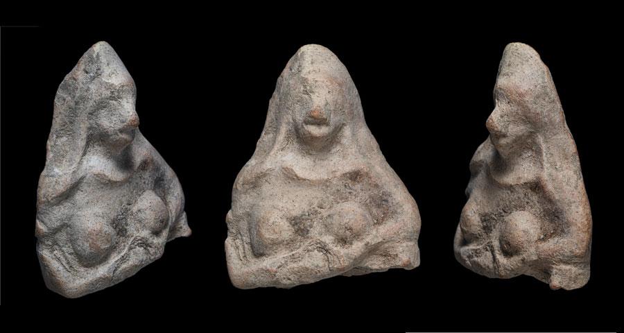 2.500 Jahre alte Keramikfigur aus Israel