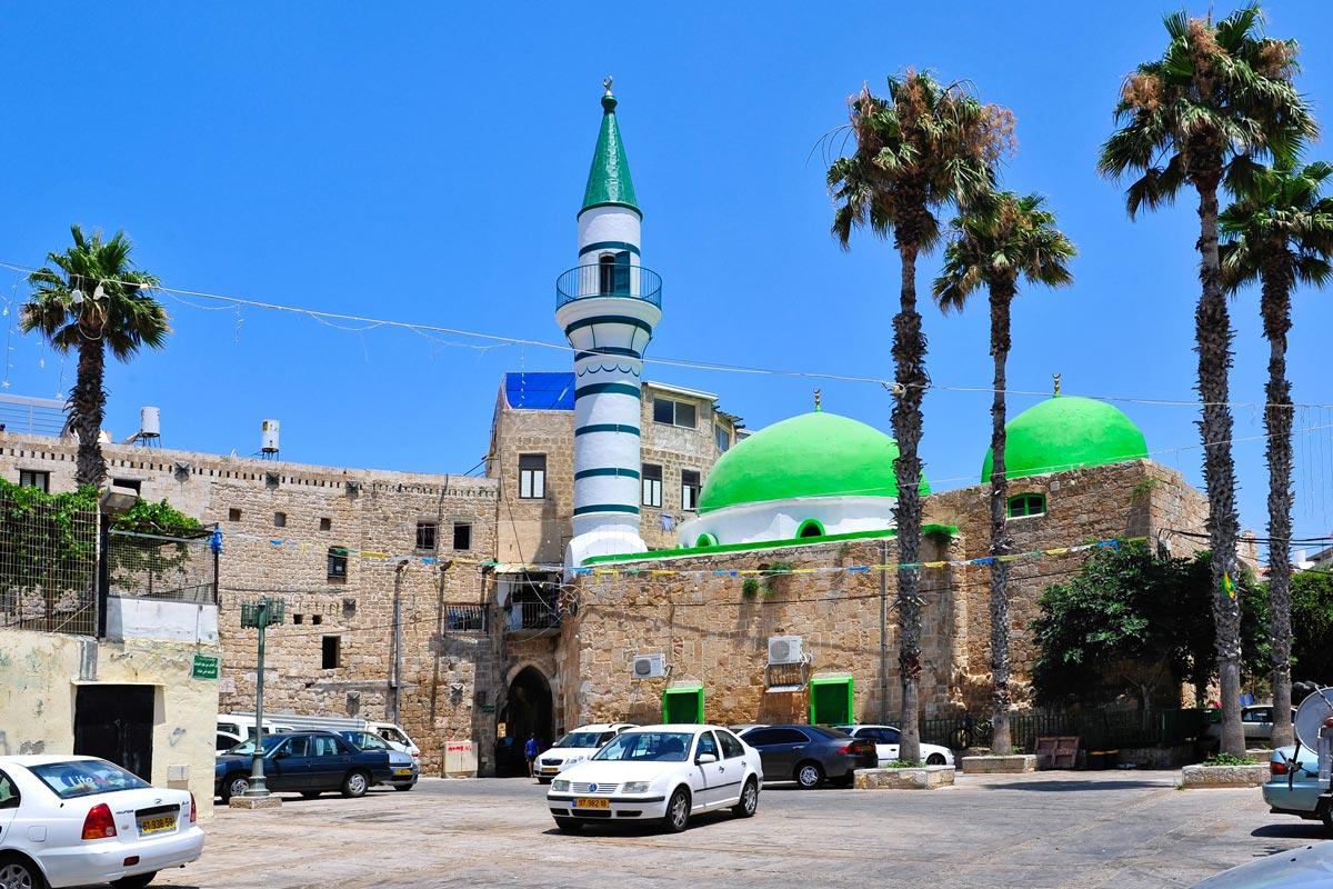 Die Al-Zeituna-Moschee in Akko.