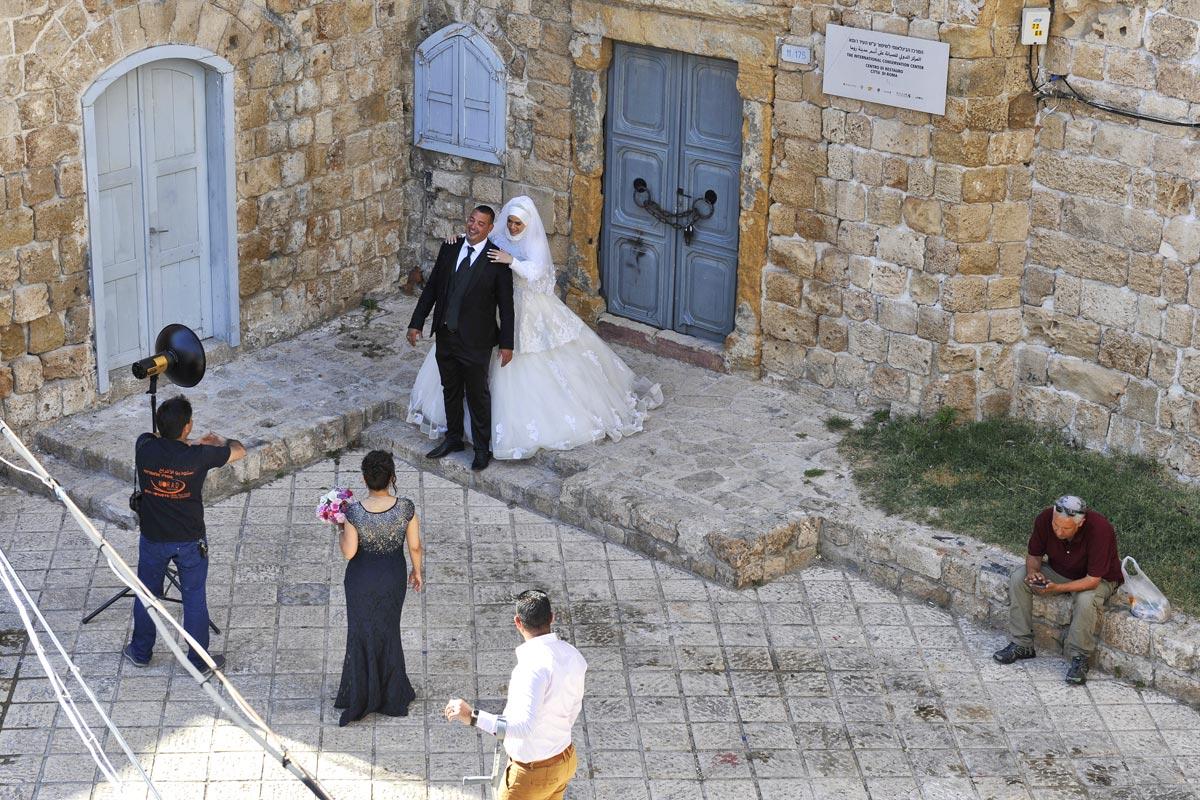 Hochzeit auf arabisch in Akko.
