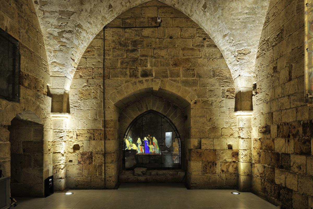 """Der """"Schöne Saal"""" diente wahrscheinlich zur Beherbergung von Gästen."""