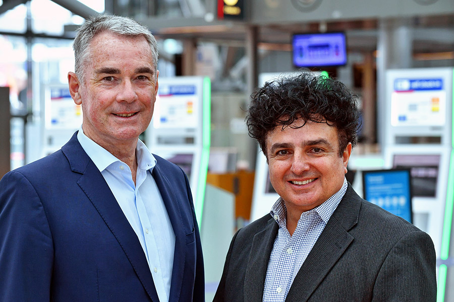 Die Gründer Paul Scodellaro (li) und Shlomo Almagor.