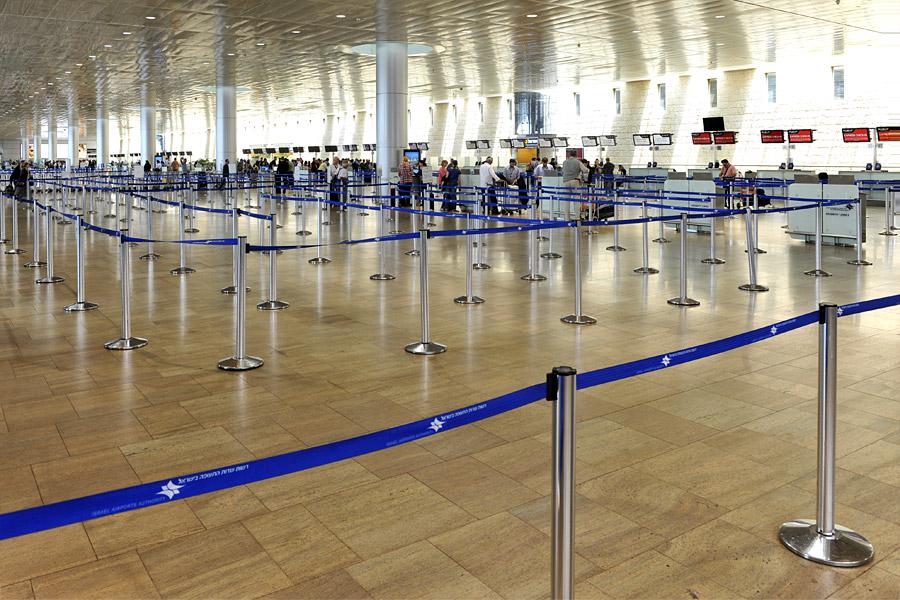 Keine Einreise für Touristen nach Israel.