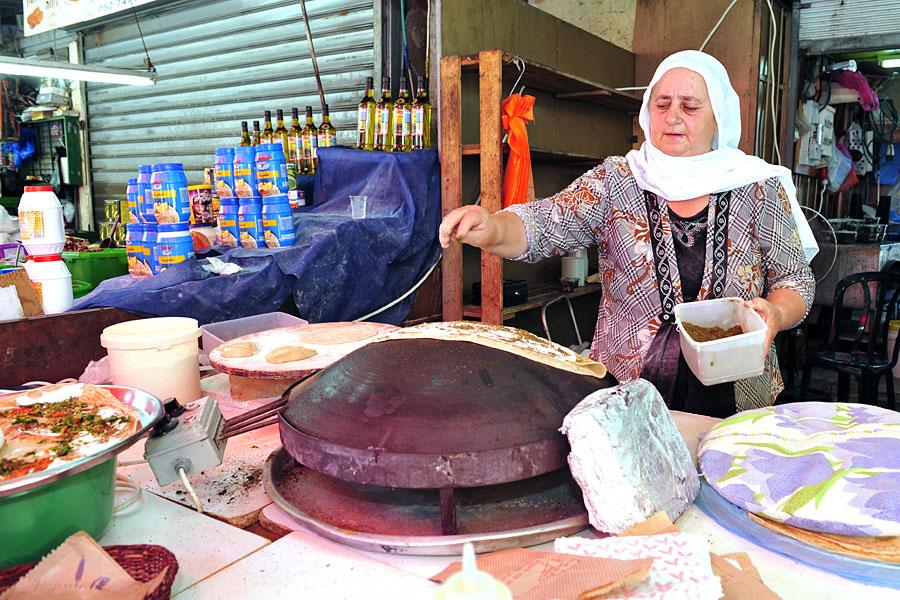 Wrap drusisch Carmelmarkt