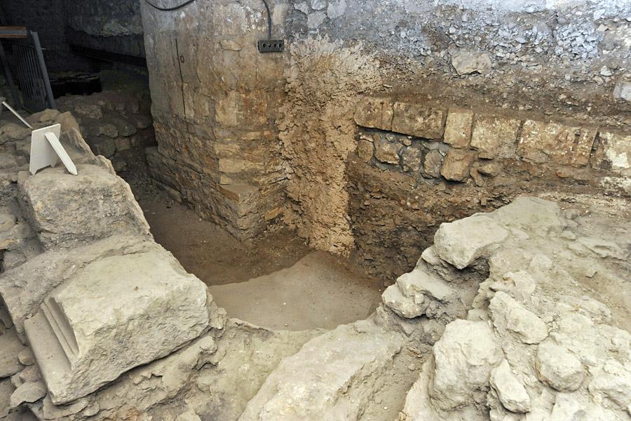 Römerbauten unter der Erlöserkirche Jerusalem