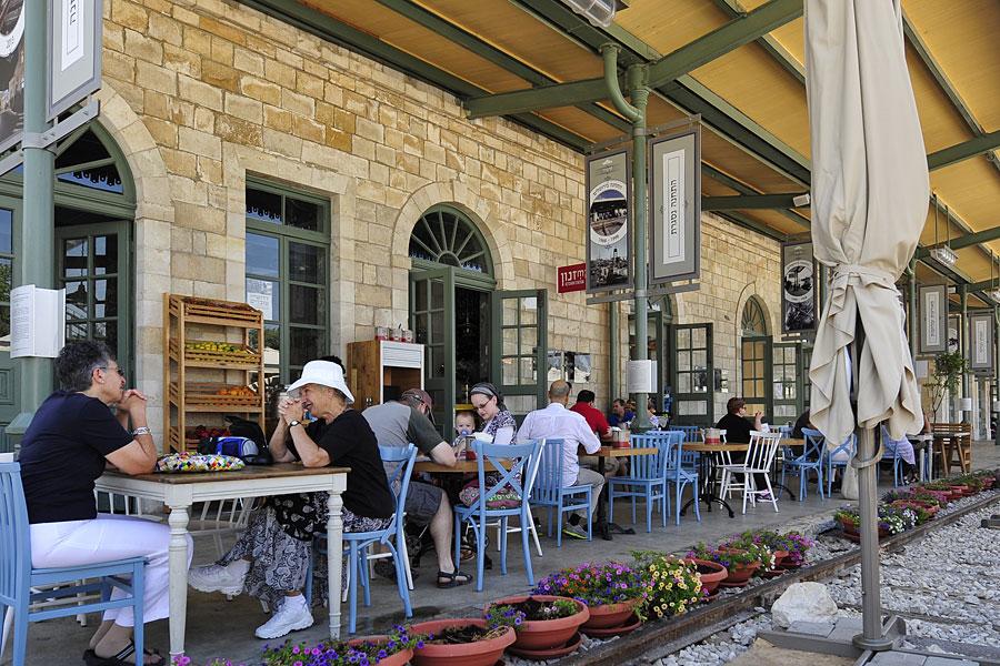 First Station Jerusalem Restaurant
