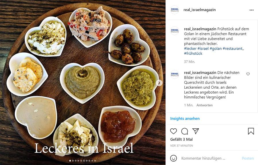 IsraelMagazin auf Instagram