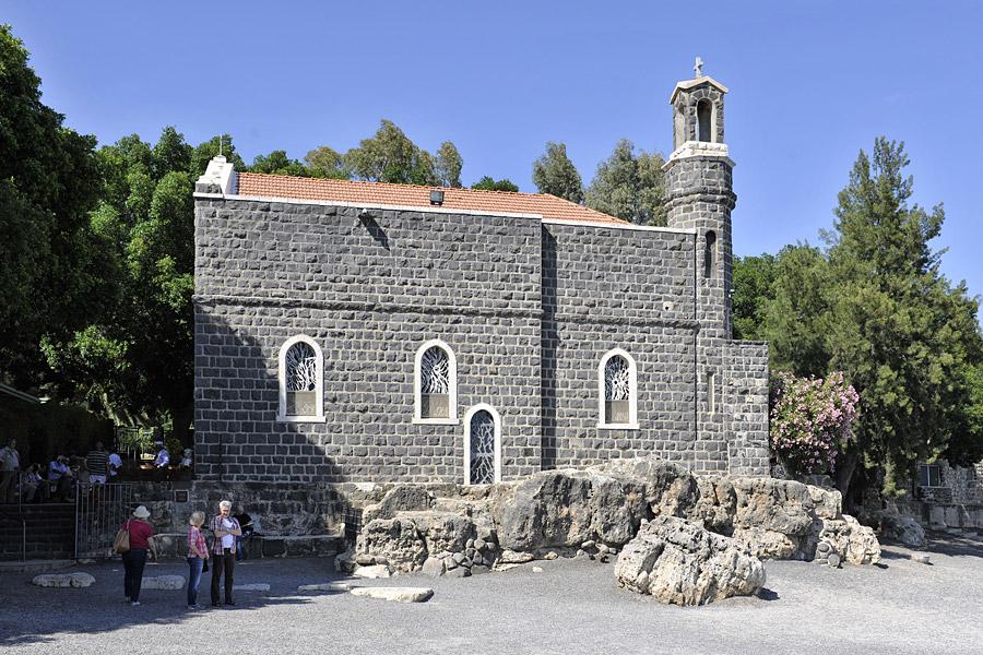 Primatskapelle am See Genezareth im Bereich Siebenquell.